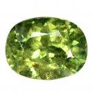1.08 Ct. Superb Luster Best Green Demantoid Garnet Loose Gemstone With GLC Certify