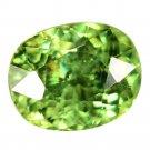 1.06 Ct. Wonderful Luster Natural Demantoid Garnet Loose Gemstone With GLC Certify