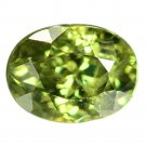 1.00 Ct. Lustrous Best Green Demantoid Garnet Loose Gemstone With GLC Certify
