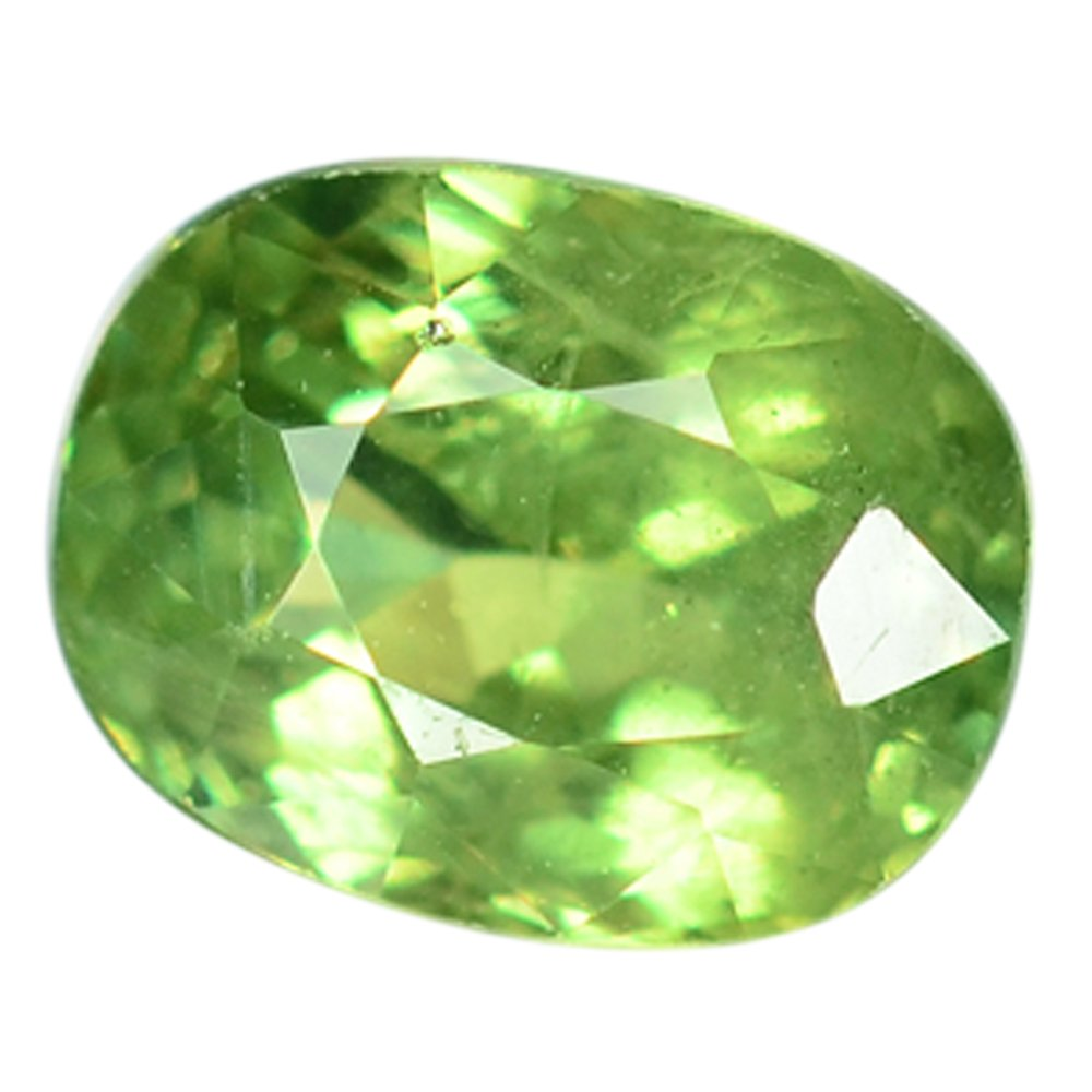 0.97 Ct. Majestic Luster Demantoid Garnet Loose Gemstone With GLC Certify