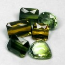 6.63 Ct. Amazing Green Natural Tourmaline Set Loose Gemstone With GLC Certify