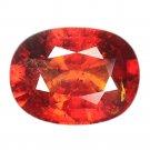 4.65 Ct. Awesome Luster Mandarin Garnet Brilliant Cut Loose Gemstone With GLC Certify