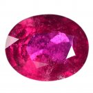 3.44 Ct. Hot Pinkish Red Rubellite Tourmaline Loose Gemstone With GLC Certify