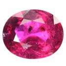 2.47 Ct. Lustrous Reddish Pink Rubellite Tourmaline Loose Gemstone With GLC Certify