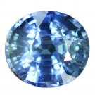 4.23 Ct. Awesome Top Oval Unheated Blue Sapphire Loose Gemstone With GLC Certify