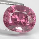 4.07 Ct. Extremely Beautiful Shape Hot Purple Pink Spinel Loose Gemstone With GLC Certify