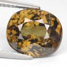 5.12 Ct. Rare Stunning Luster Green Demantoid Garnet Loose Gemstone With GLC Certify