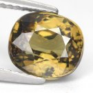 3.27 Ct. Best Green Natural Madagascar Demantoid Garnet Loose Gemstone With GLC Certify