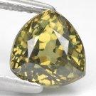 2.18 Ct. Lustrous Best Green Demantoid Garnet Loose Gemstone With GLC Certify