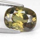 2.28 Ct. Wonderful Luster Madagascar Demantoid Garnet Loose Gemstone With GLC Certify