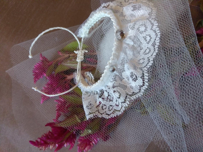 White wedding Bracelet