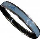 Hermès Carriage Blue Bangle 210162