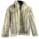 Creation Suede & Fur Furml10 Grey Jacket