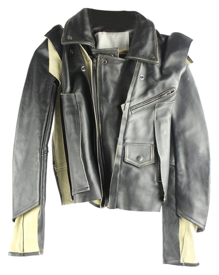 Maison Martin Margiela for H&M Deconstructed Leather Mhmlm1 Jacket
