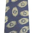 Italian Handmade 100% Navy Beige Tie MSCTTY01