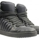 Gucci Navy Quilted High-top Sneaker Ggsty01 Black Athletic Shoes