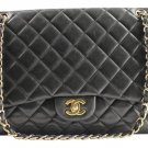 Chanel Lambskin Maxi Classic Double Flap 12cca1020 Shoulder Bag