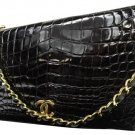 Chanel Crocodile Flap 209693 Shoulder Bag