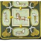 Hermès Paperoles Horses Vintage Scarf 172451 HTL38