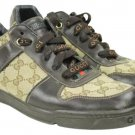 Gucci Men's Sneeakers Lbslm77 Monogram Athletic Shoes