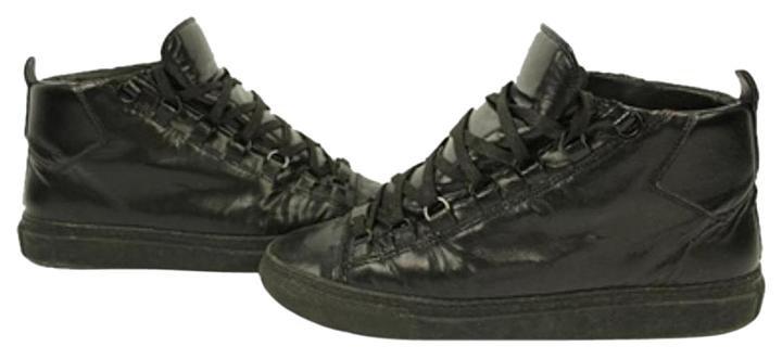Balenciaga Stingray Arena Sneakers Lbslm22 Black Athletic Shoes
