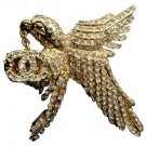Chanel 01P Hummingbird Pin 209694