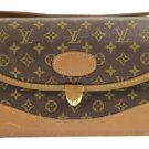 Louis Vuitton Cosmetic Train Case Vanity Lvty11 Brown Travel Bag