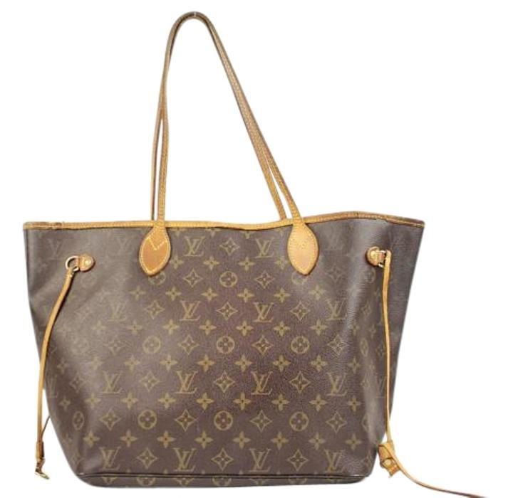 Louis Vuitton Neverfull Mm Lvtl208 Monogram Tote Bag