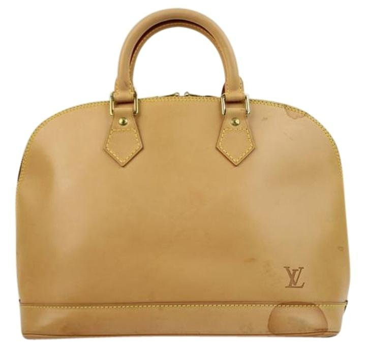 Louis Vuitton Anniversary Alma Jlvlm165 Natural Satchel