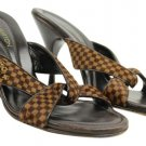 Louis Vuitton Ebene Lvsty11 Damier Sandals