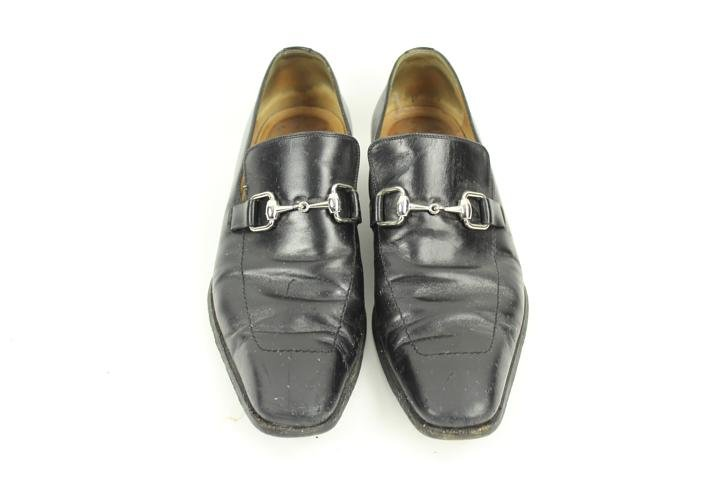 Gucci Horsebit Loafers Dress Gulm5 Black Formal Shoes