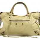 Balenciaga City Two-way Baltl06 Beige Satchel