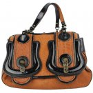Fendi B Buckle Leather Ffjy47 Satchel