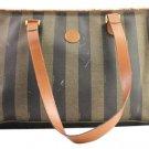 Fendi Pequin Stripe 9ffa104 Shoulder Bag