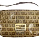 Fendi Monogram Ffjy21 Brown Baguette