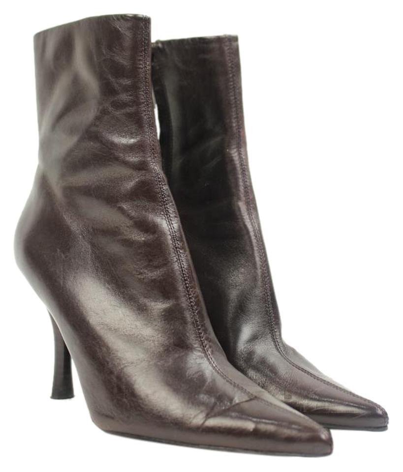 Nine West Ankle Miscty25 Brown Boots
