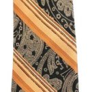 Stripped Paisley Silk Tie AVTTY01