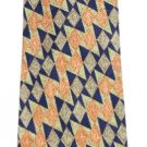 Ermenegildo Zegna Triangle Tribal Zig Zag Silk Tie EZTTY14
