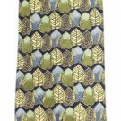 Ermenegildo Zegna Leaves Leaf Patterned Printed Tie EZTTY17