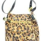 B. Makowsky Leopard Crossbody 2misa1025 Shoulder Bag