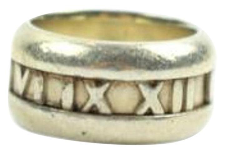 Tiffany & Co. Atlas Roman Numeral Ring 60MISA1025