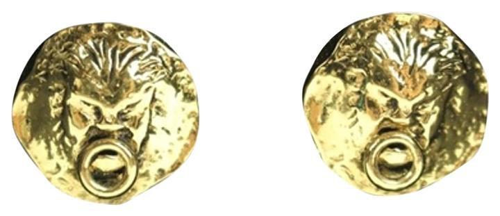Chanel Lion CC Earrings CCTL30