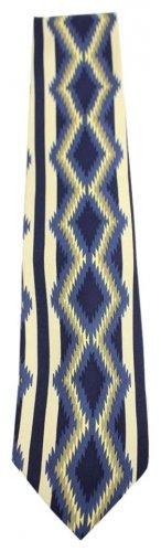 Tribal Pattern Pure Silk Tie PTTY01