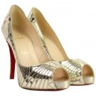 Christian Louboutin Very Galaxy Mirror 65cla1014 Pumps