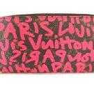 Louis Vuitton Hot Pink Stephen Sprouse Graffiti Zippy Wallet 209829