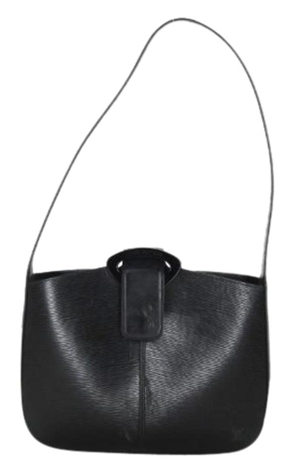 Louis Vuitton Black Epi Reverie 207533 Shoulder Bag