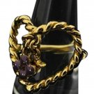 Louis Vuitton LV Heart Ring 210867