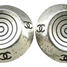 Chanel CC Spiral Earrings 211132