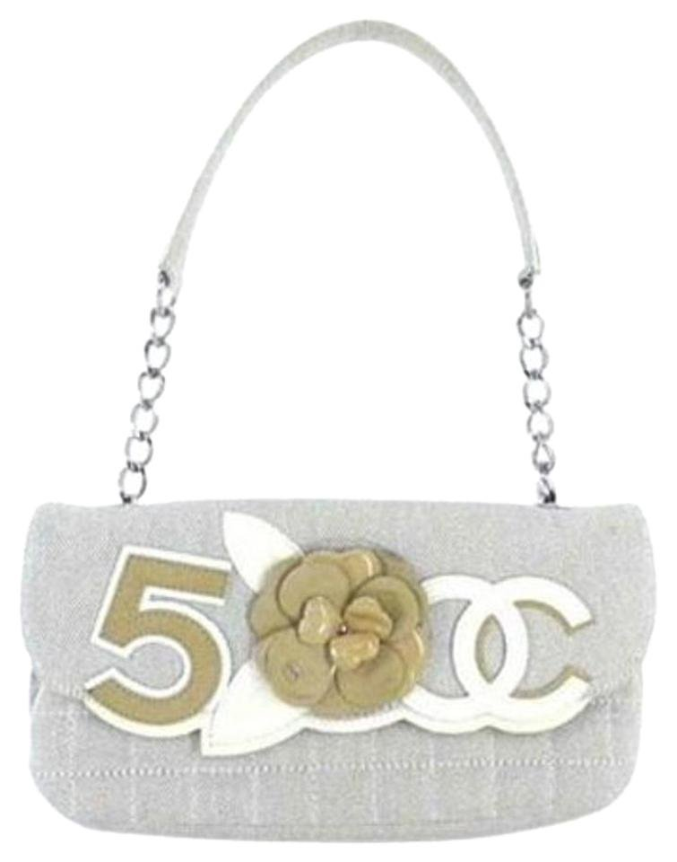 Chanel Camellia Cc Chain Classic Flap 207262 Shoulder Bag