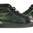 Christian Louboutin Multicolor Python Spike Louis 12cla1122 Athletic Shoes